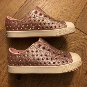 Native Kids Toddler Jefferson Glitter Shoes